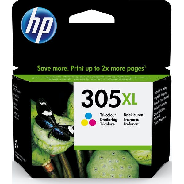 HP Druckkopf mit Tinte 305 XL farbig (3YM63AE)_Image_0