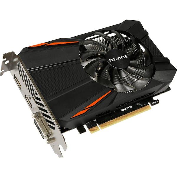 GIGABYTE GeForce GTX 1050 Ti D5 4G, 4GB GDDR5, DVI, HDMI, DP (GV-N105TD5-4GD)_Image_0