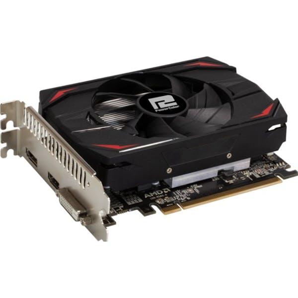 PowerColor Radeon RX 550 Red Dragon, 4GB GDDR5, DVI, HDMI, DP (AXRX 550 4GBD5-DH)_Image_0