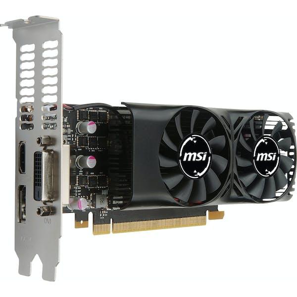 MSI GeForce GTX 1050 Ti 4GT LP, 4GB GDDR5, DVI, HDMI, DP (V809-2404R)_Image_0