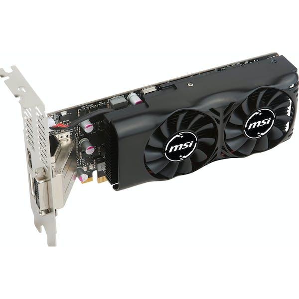MSI GeForce GTX 1050 Ti 4GT LP, 4GB GDDR5, DVI, HDMI, DP (V809-2404R)_Image_1
