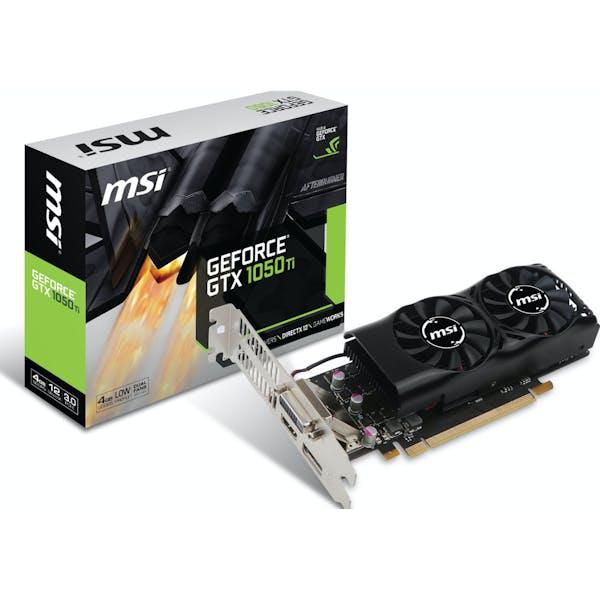 MSI GeForce GTX 1050 Ti 4GT LP, 4GB GDDR5, DVI, HDMI, DP (V809-2404R)_Image_3