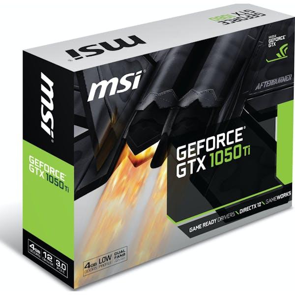 MSI GeForce GTX 1050 Ti 4GT LP, 4GB GDDR5, DVI, HDMI, DP (V809-2404R)_Image_4