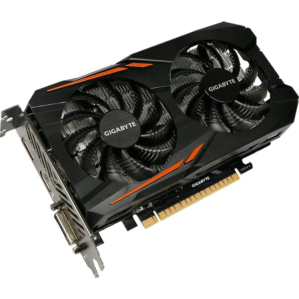 GIGABYTE GeForce GTX 1050 Ti OC 4G, 4GB GDDR5, DVI, HDMI, DP (GV-N105TOC-4GD)_Image_0