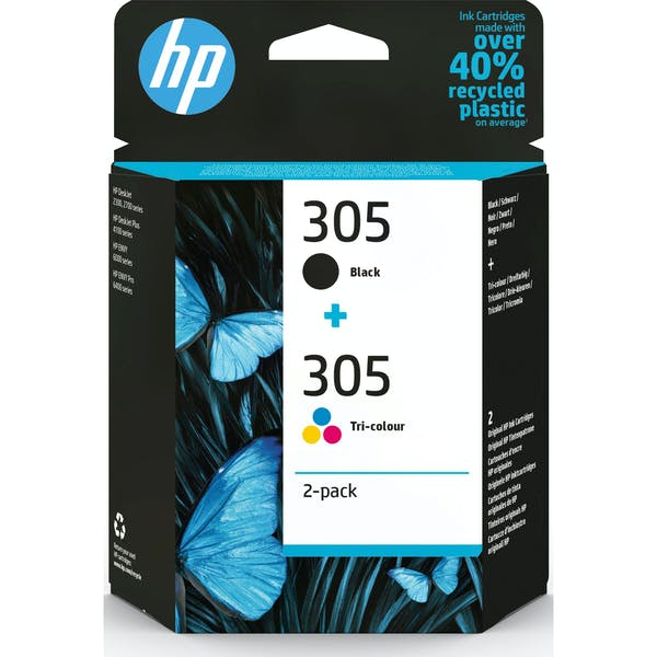 HP Druckkopf mit Tinte 305 schwarz/farbig (6ZD17AE)_Image_0